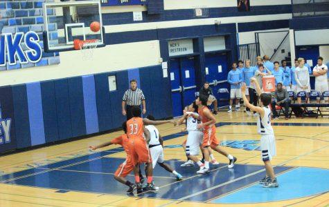 DV faces Desert Edge Basketball- 1/12