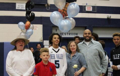 Boys Basketball Senior Night: Goodbye Seniors