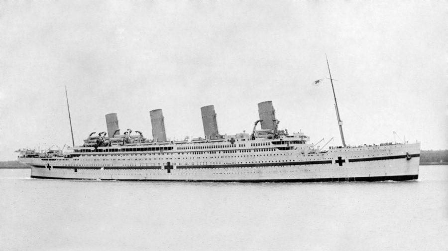 HMHS+Britannic+Disaster